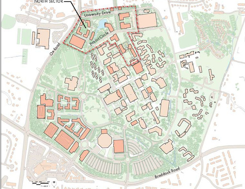 George Mason University Master Plan, Fairfax, VA | EE&K a Perkins ...